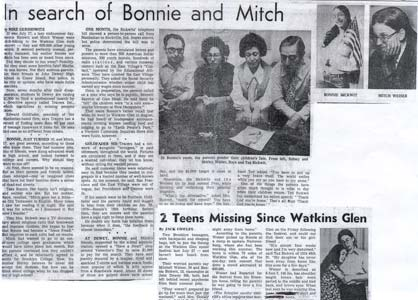 In Search of Bonnie and Mitch